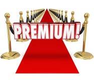 Premium Red Carpet Treatment Top Customer Priority Status Stock Images