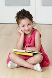 Preschooler with book Stock Photography