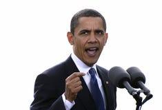 President Obama in Praag Royalty-vrije Stock Foto