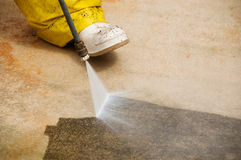 Pressure cleaning Royalty Free Stock Images