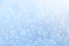 Pretty Winter Heavenly Sky Background Stock Photography