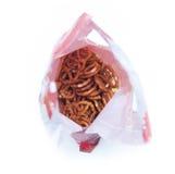 Pretzels bag Royalty Free Stock Images