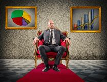 Pride of financial success Royalty Free Stock Photo
