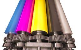 Print machine Stock Photo
