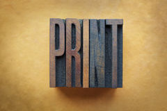 Print Royalty Free Stock Image