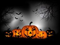 Priorità bassa di Halloween Fotografia Stock Libera da Diritti