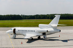 Private airplane jet Stock Images