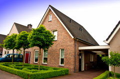 Private house in Holland Stock Images