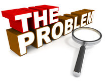 The problem Royalty Free Stock Photo