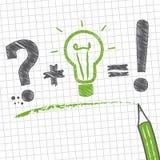 Problem-solving, sketch Stock Photos
