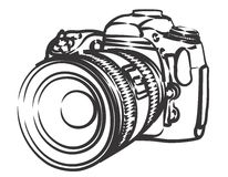 Professional camera Royalty Free Stock Images