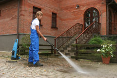 Professional cleaning Royalty Free Stock Photos