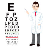 Professional Male Optician Royalty Free Stock Photos
