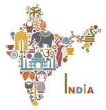 Programma dell'India Immagini Stock