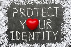 Protect identity Royalty Free Stock Image