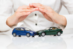 Protection of car Royalty Free Stock Photos