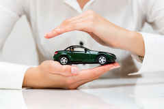 Protection of car Royalty Free Stock Photo