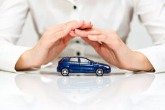 Protection of car Stock Photography