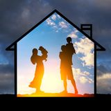 Protection of family values Stock Images