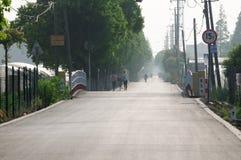 Pudong Shanghai China Road Stock Photos