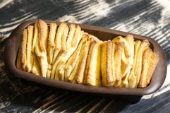 Pull-apart sweet bread Stock Image