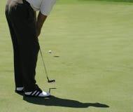 Putt do golfe Imagem de Stock Royalty Free