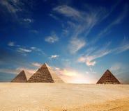 pyramide de l'Egypte Image libre de droits
