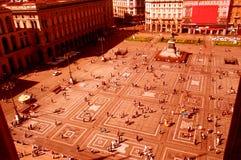 Quadrado urbano Imagem de Stock