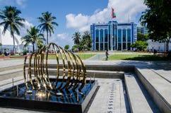 Quadrato principale al maschio maldives Immagini Stock Libere da Diritti