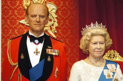The queen and the prince Stock Photography