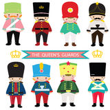Queen's Guards, toy soldier,nutcracker,UK Guards,UK soldier Royalty Free Stock Photography