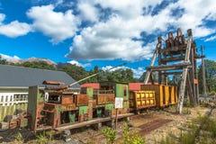 Queenstown Tasmania Historical Artifacts Stock Photo