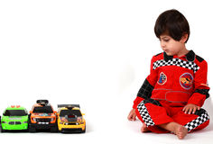 Race car game Royalty Free Stock Images