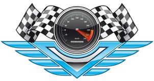 Racing insignia Stock Image