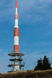Mountain Top Radio Communications Tower Royalty Free Stock Image