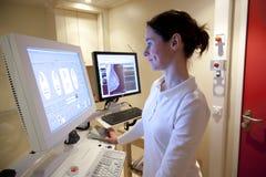 Radiology technician Royalty Free Stock Photo
