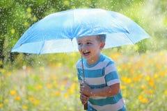 Rain and sunshine Stock Photos