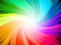 Rainbow swirl Stock Photos