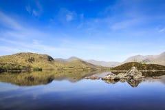 Rannoch moor loch highlands of scotland Royalty Free Stock Photo