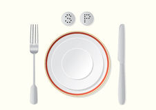 Ready for meal Stock Image