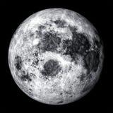 Realistic full moon Stock Photos