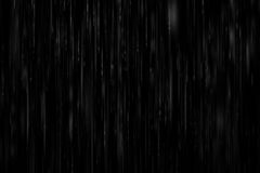 realistic heavy rain on a black background Royalty Free Stock Image