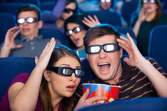 So realistic movie! Royalty Free Stock Photography
