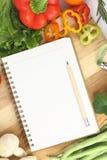 Recipe book Stock Image
