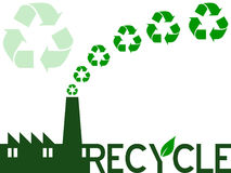 Recycle Industry Royalty Free Stock Photo