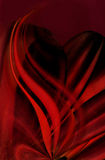 Red background design Royalty Free Stock Photography