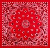 Red Bandana Print Stock Image