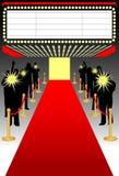 Red carpet premier/ai Stock Images