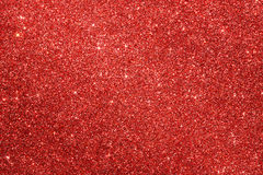 Red glitter background Royalty Free Stock Photos