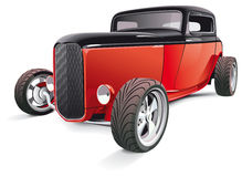 Red hot rod Royalty Free Stock Images